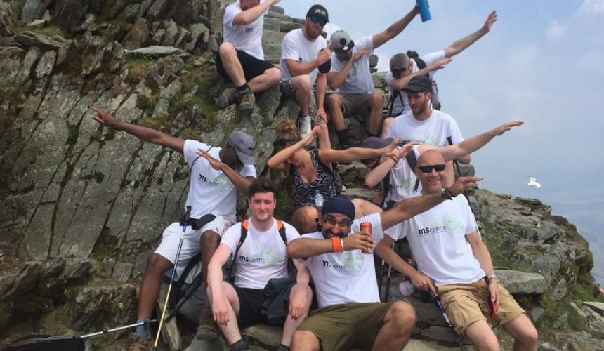 3 peaks conquered by a group of friends