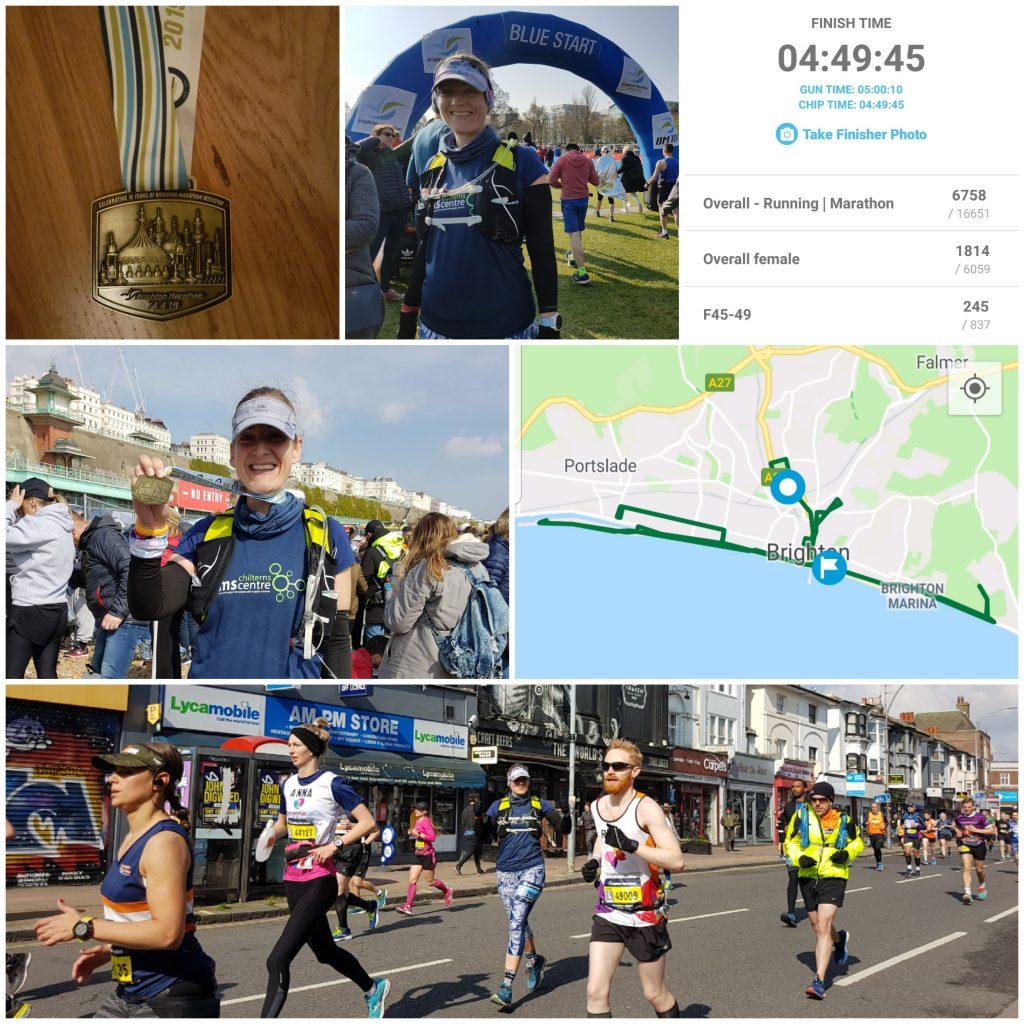 Claudia's marathon pictures