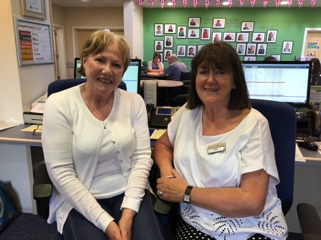 Our Volunteer Receptionists