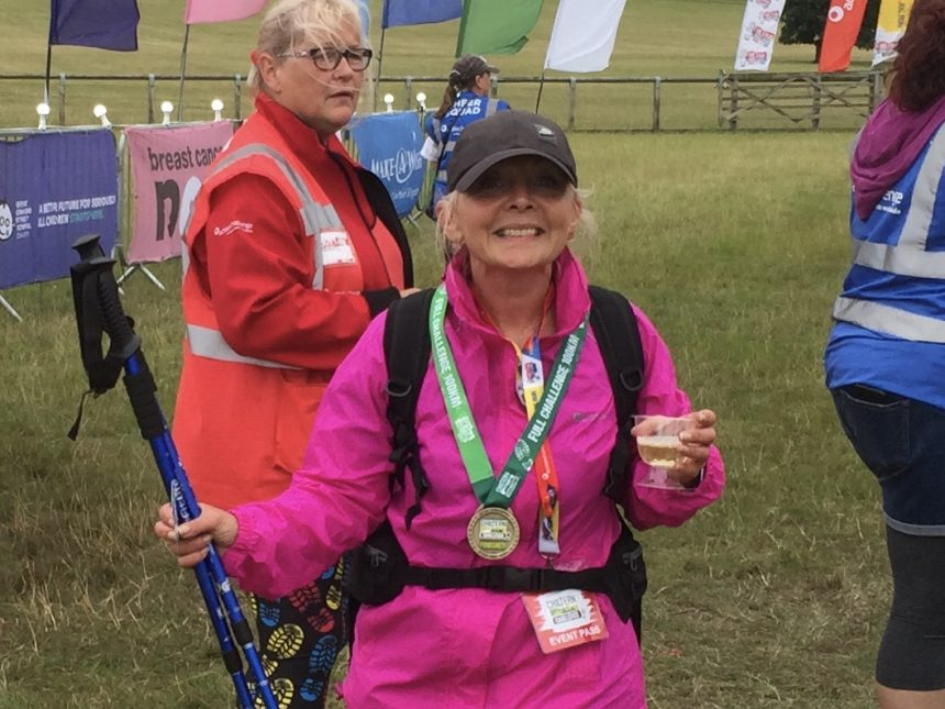 Mandy conquers the Chilterns for MS