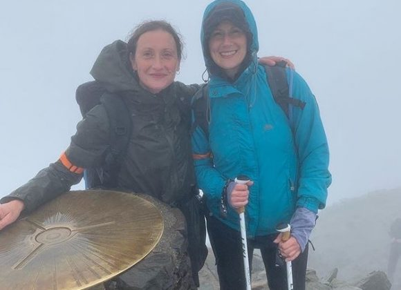 Hero Heather completes Three Peaks challenge in support of her Mum