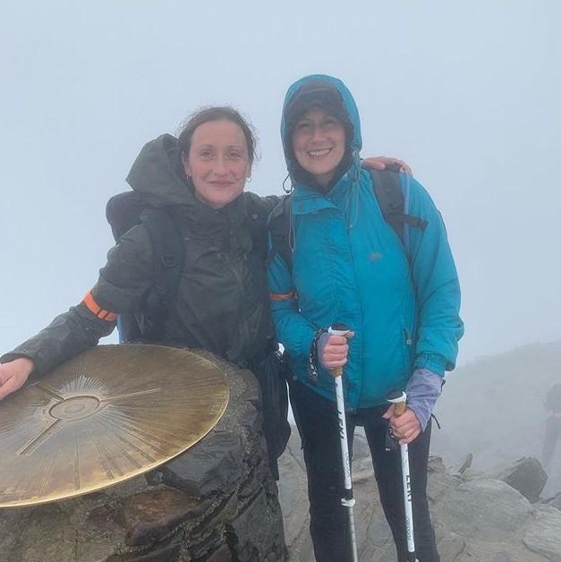 Hero Heather completes Three Peaks challenge in support of her Mum