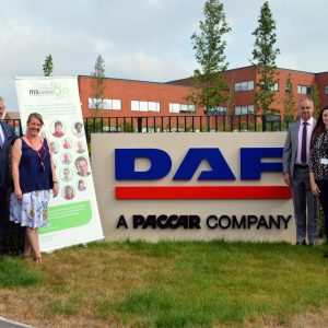 DAF Trucks drives charitable giving forward