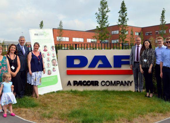 DAF Trucks drives charitable giving forward