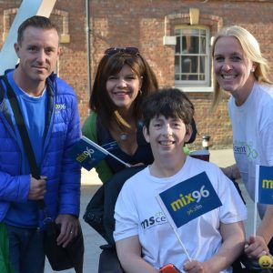 Walk the MS Mile raises nearly £7,000