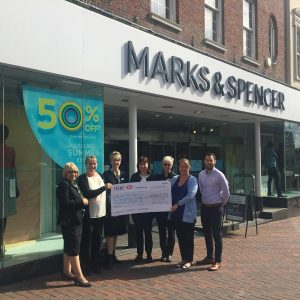 M&S Aylesbury staff get behind the Centre