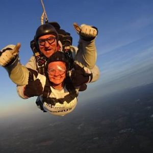 Skydivers raise over £17,000