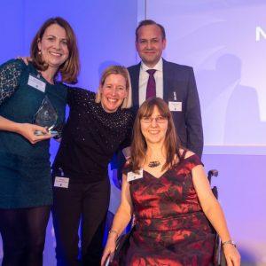 Nutrition team win at QuDos awards