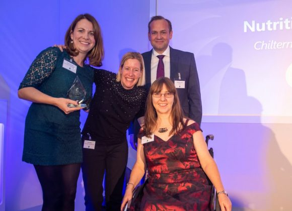 Nutrition team win at QuDos awards
