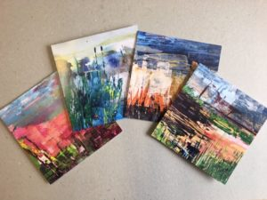 cards made by the Angell art group