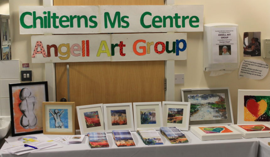 The Angell Art Group exhibit