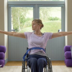 Adaptive Yoga brought to you by Wheelpower