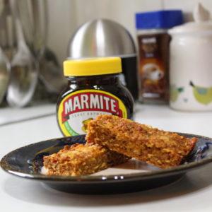 Marmite & Chilli Flapjacks