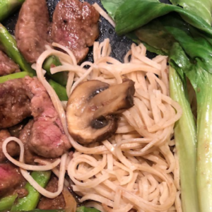 Chinese Beef and Noodles