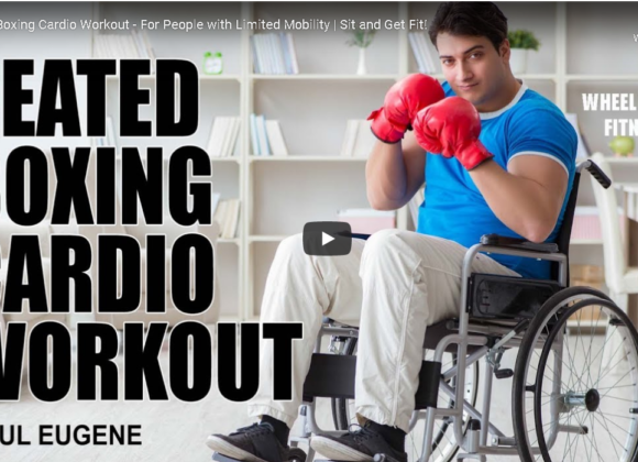 Seated Boxing Cardio Workout