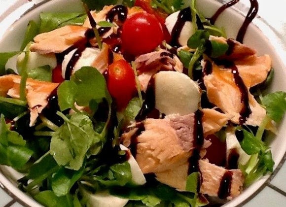 Watercress and Salmon Salad
