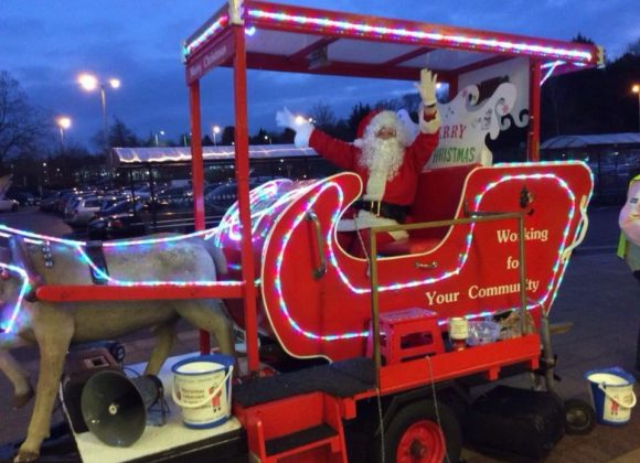 Support from Santa and Hemel Rotary