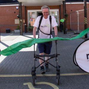Patrick completes his challenge to raise £5,000!