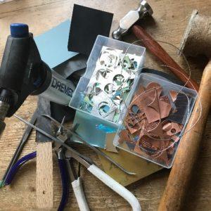 Catherine's jewellery tools
