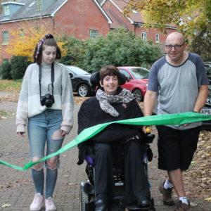 Julie Completes Her 35th Walk!