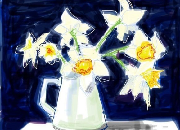 Art Challenge: Spring Daffodils