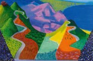 Art Challenge: Hockney Landscapes
