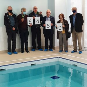 Rotarians Put Their Best Foot Forward To Support The Centre