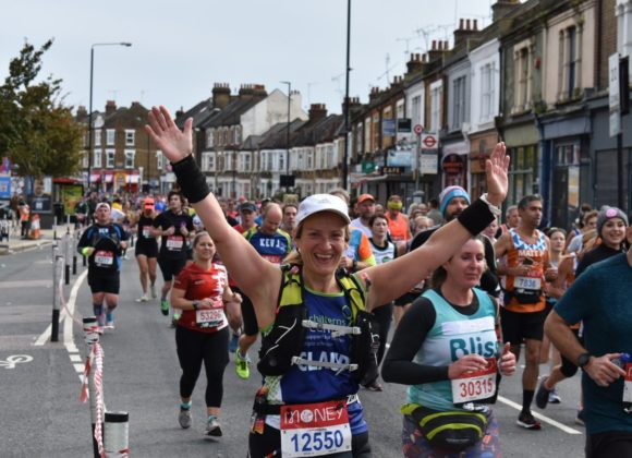 Going The Distance For MS